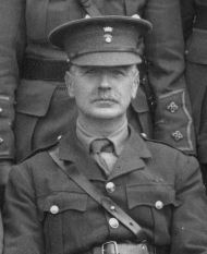 Lieutenant Colonel S W W Blacker DSO