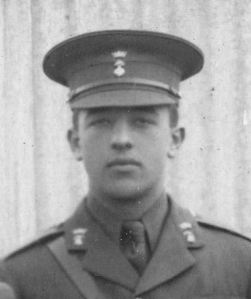 Second Lieutenant Tom Shillington