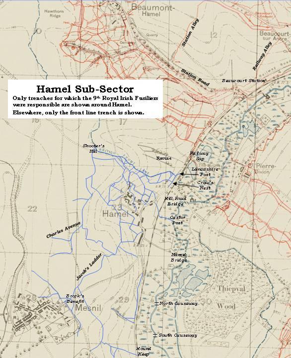 Hamel Sub-Sector, 1916