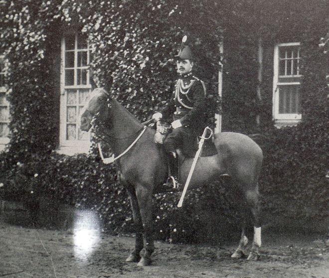 Major R J Kentish, c1910