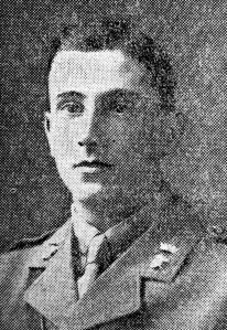 Second Lieutenant G C Dickson