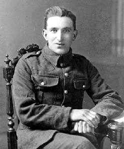 Private John Adams, later Sergeant J Adams MM*