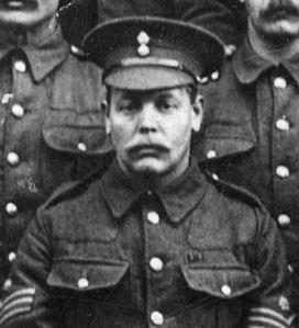 Company Sergeant Major F E Cross