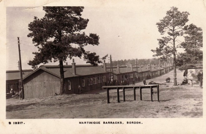 Martinique Barracks, Bordon