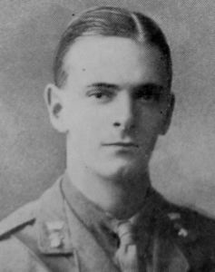 Second Lieutenant Harold Lyness