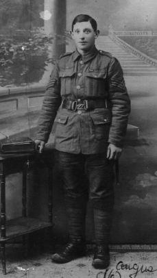 Sergeant R J Wolfe MM