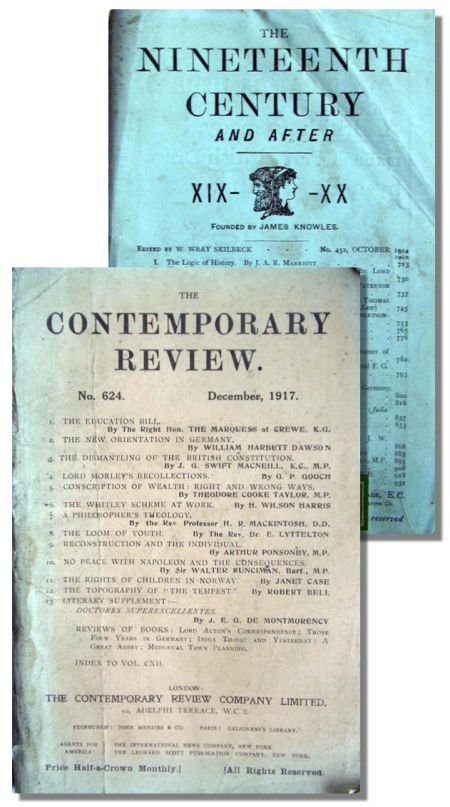 The Nineteenth Century and The Contemporary Review