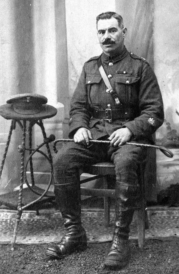 RSM C H Turner, January 1917