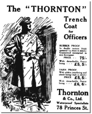 The Thornton Trench Coat