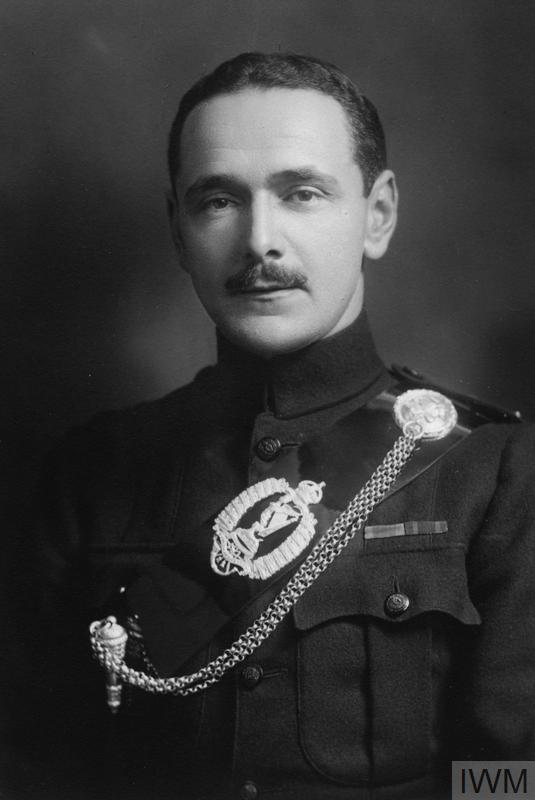 Lieutenant Colonel William Richard Goodwin, Commanding Officer 12th (Service) Battalion, The Royal Irish Rifles (Central Antrim). Copyright IWM (HU 115192).